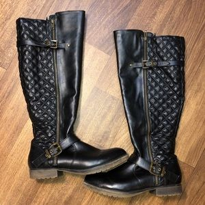 Steve Madden quakee riding boots! 9